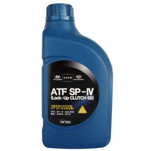 HYUNDAI ATF SP-IV Жидкость трансмиссионная АКПП (6ти ступенчатой) (пластик/Корея)