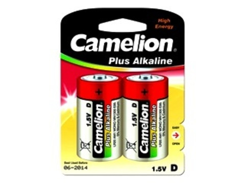 Э/п Camelion LR20 Plus Alkaline BL2   12/96