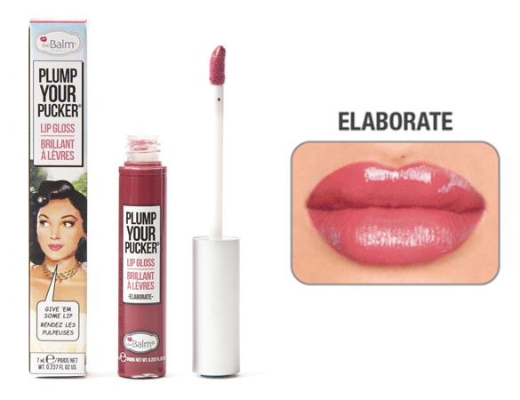 Блеск для губ The Balm Plump Your Pucker Elaborate