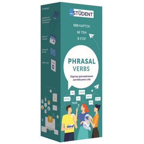 Phrasal Verbs. Картки для вивчення англійських слів: фразові дієслова. 500 флеш-карток