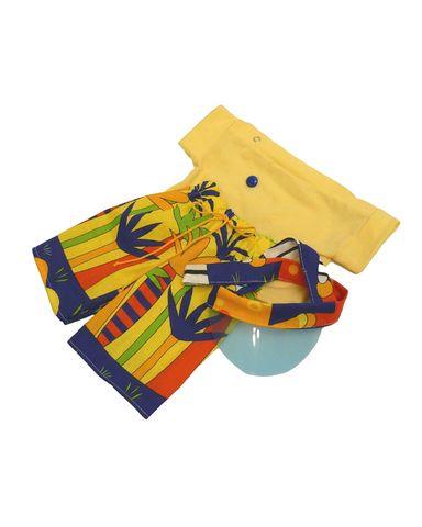 Летний костюм - Желтый. Одежда для кукол, пупсов и мягких игрушек.