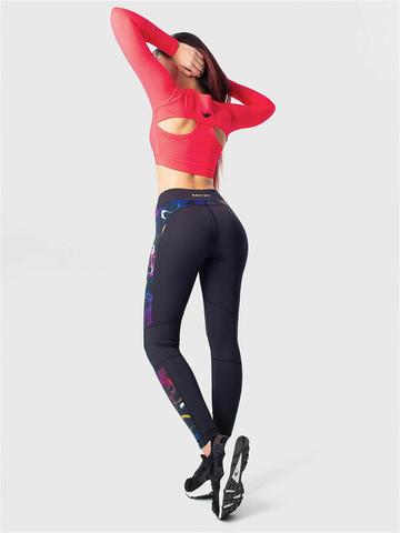 Леггинсы жен. для йоги и фитнеса
