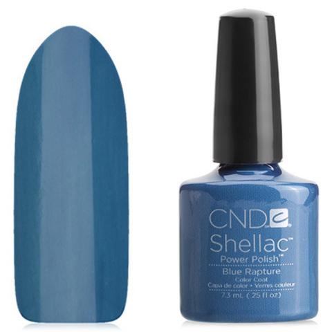 Гель лак CND Shellac Blue Rapture купить за 900руб
