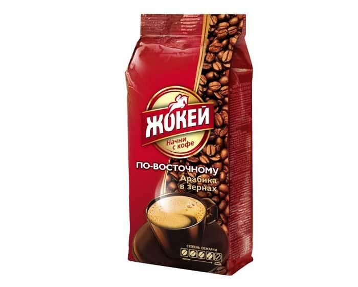 Кофе в зернах Жокей По-восточному, 500 г