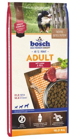 Bosch Adult Lamb & Rice 15 кг