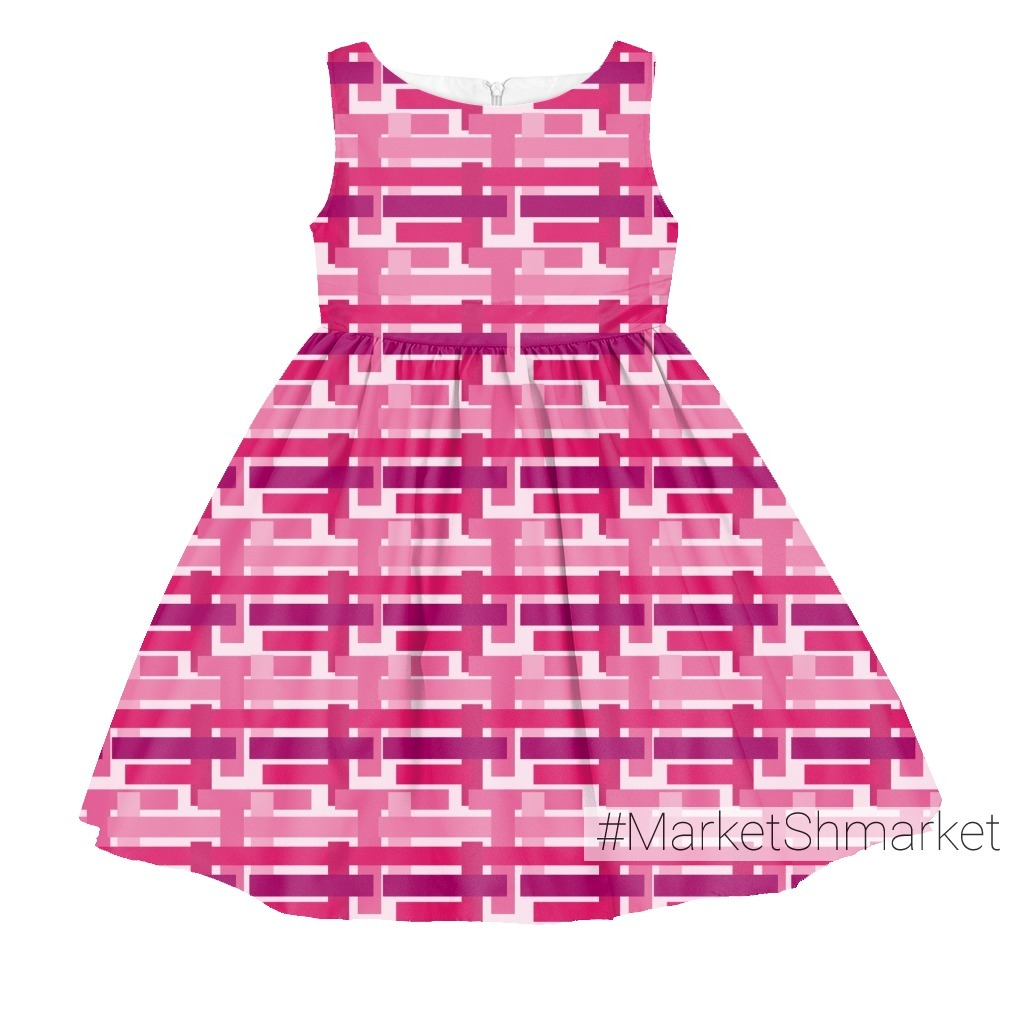 Плетенка розовая