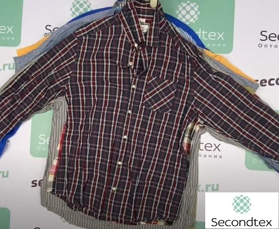 Рубашка мужские х/б