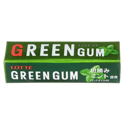 Жев.резинка  (GREEN GUM) LOTTE 31г