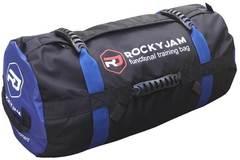 Сэндбэг RockyJam L (35-100 кг) синяя с резиновыми ручками