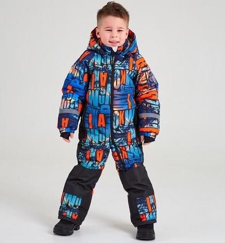 Batik Зимний комбинезон Дональд 420-22з оранжевый