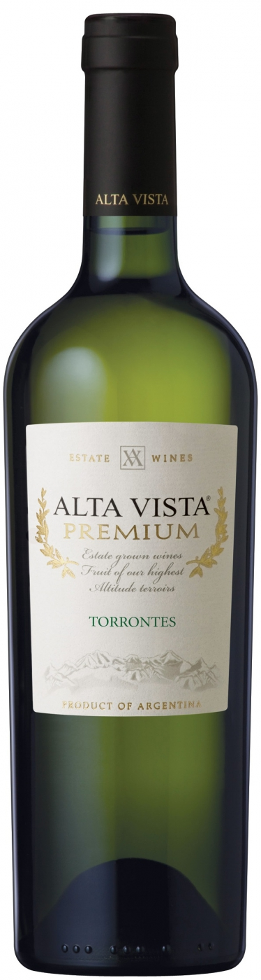 Вино Альта Виста Премиум Торронтес белое сухое 0,75л