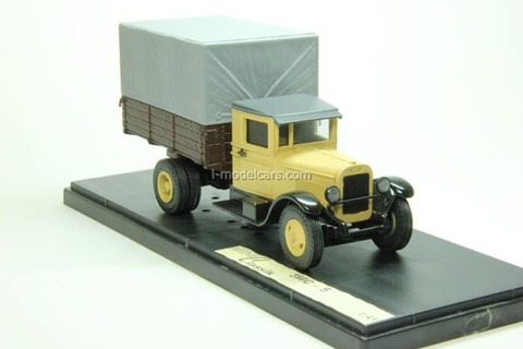 ZIS-5 with awning beige 1:43 Miniclassic