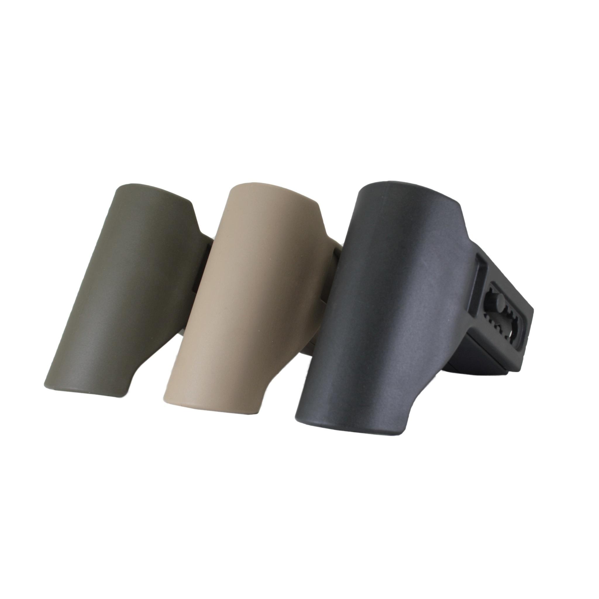 Короткий подщечник для AR для приклада TBS Compact, DLG Tactical - палитра цветов