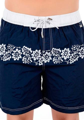 Синие мужские шорты-плавки