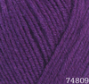 Пряжа LANA LUX 74809 (Пурпур)