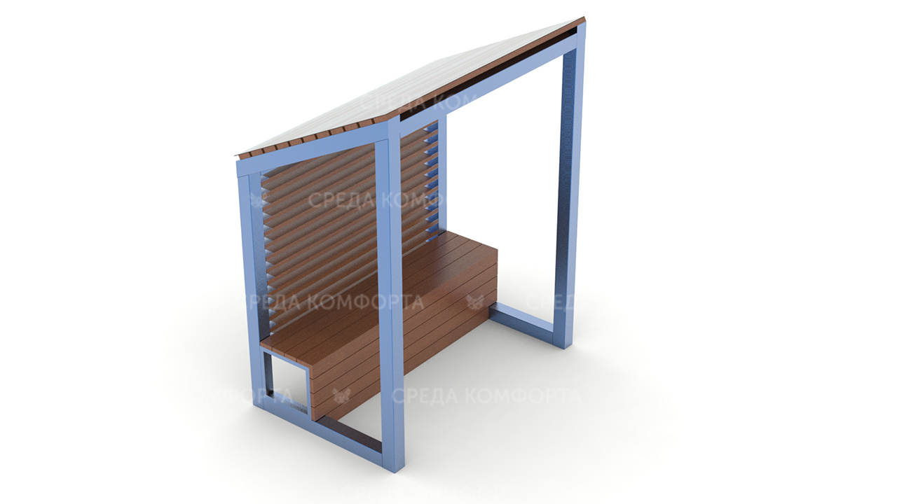 Скамейка с навесом SCAM0129