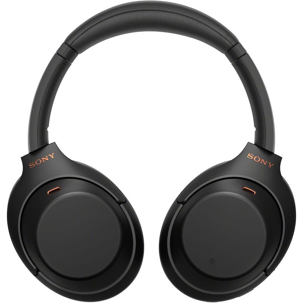 Наушники Sony WH-1000XM4B чёрные купить у официального дилера