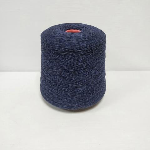 Lana Verg, Меринос 100%, Пестрый темно-синий, 370 м в 100 г