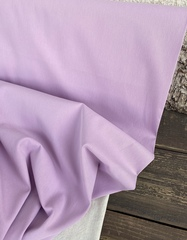 Хлопок, твилл, цвет Light purple