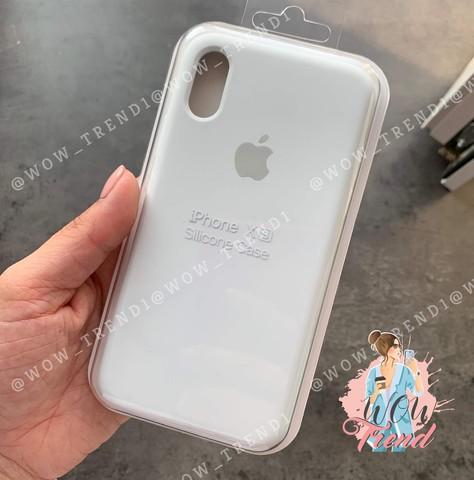 Чехол iPhone 6+/6S+ Silicone Case Full /white/ белый