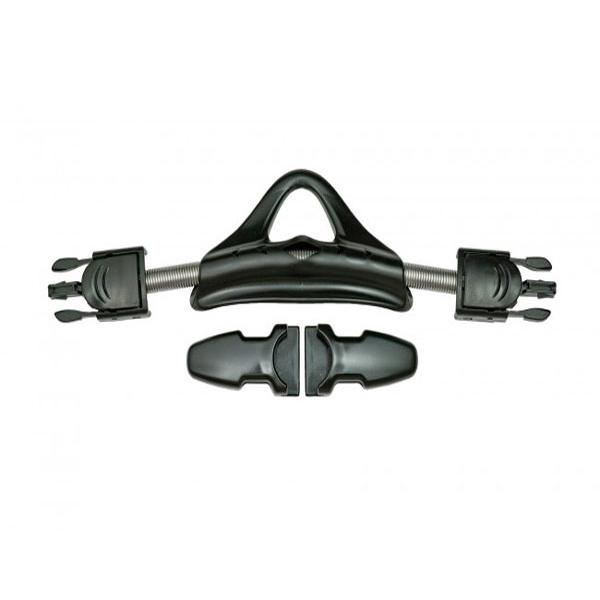 Комплект универсальных пружинных TUSA ремешков для ласт