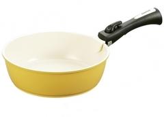 Глубокая сковорода 24x7,5 см., 2,5 л. CLICK со съемной ручкой Fissman