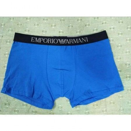 Мужские трусы хипсы синие Emporio Armani