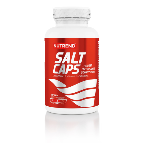 Nutrend Солт Капс капсулы №120/Salt Caps capsules №120 (Без вкуса)