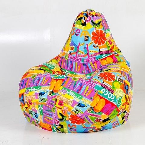 Кресло-мешок «Груша»Экзотик