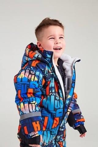 Зимний комбинезон Батик для мальчика