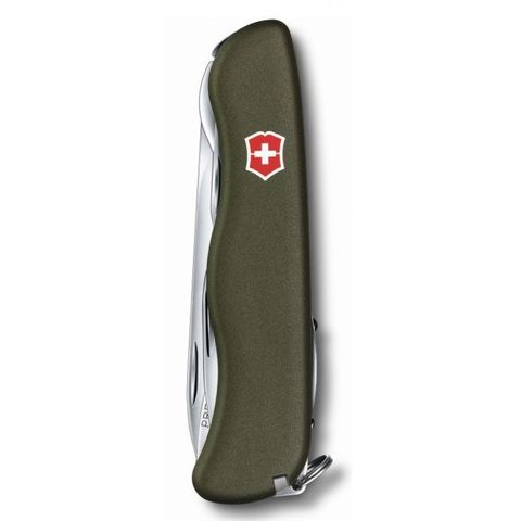 Нож перочинный Victorinox Outrider (0.8513.4R) 111мм 14функций зеленый
