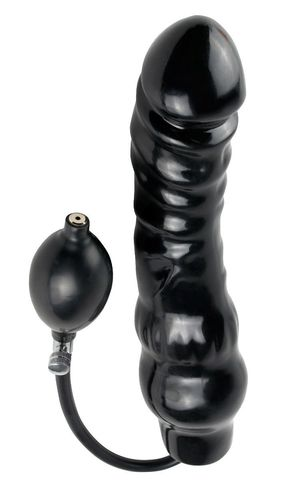 Фаллоимитатор с функцией подкачки Inflatable Ass Blaster - 23 см. - Pipedream Fetish Fantasy Extreme PD3666-23