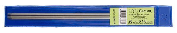 Спицы Гамма 5-ти компл. MK5 металл d 1,8 мм 20 см