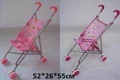 Коляска 9302 для куклы простая трость