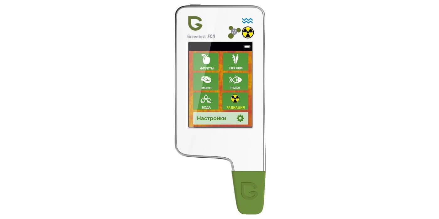 Greentest ECO5 - нитрат-тестер, измеритель жёсткости воды, дозиметр