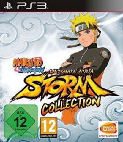 Naruto Shippuden: Ultimate Ninja Storm Collection (PS3, 1 + 2 + 3 Full Burst, английская версия)