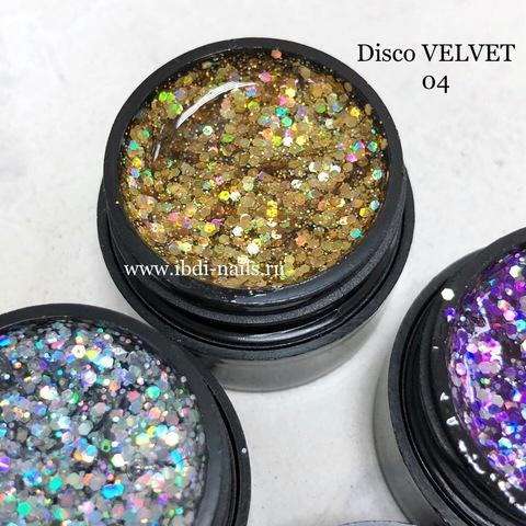 Гель-лак VELVET Disco Gel 04 5г