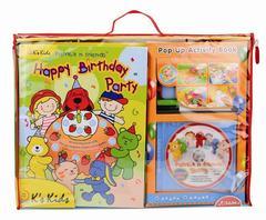 Диск DVD «Веселая развивающая книжка и диск с 3-мя мультфильмами» (K`s Kids, KC91101)