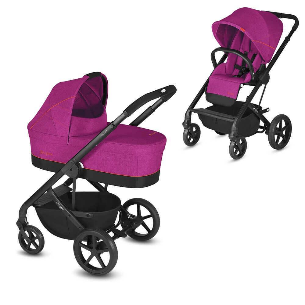 Cybex Balios S 2 в 1, для новорожденных Детская коляска Cybex Balios S 2 в 1 Passion Pink CYB_18_EU_PAPI_BaliosS_2in1_composite_DERV_HQ.jpg