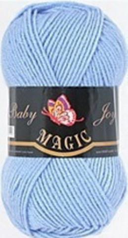 Пряжа Baby Joy (Magic) 5711 Голубой фото