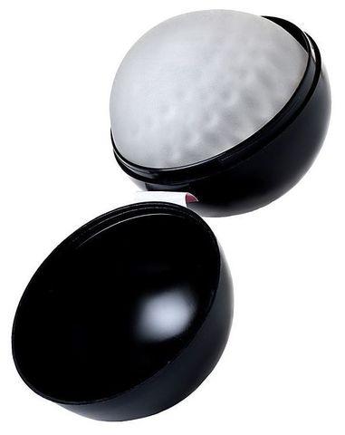 Прозрачный мастурбатор-шарик с пупырышками