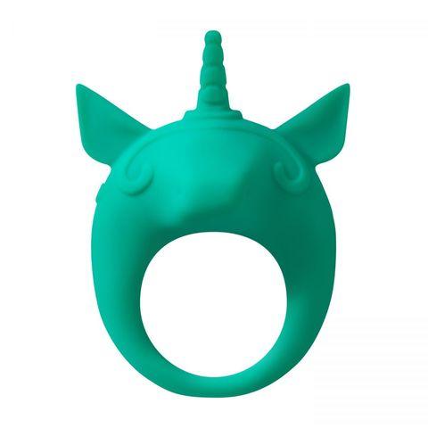 Зеленое эрекционное кольцо Unicorn Alfie