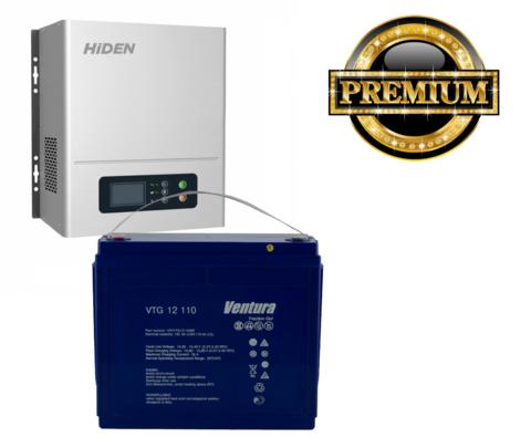 Комплект HIDEN HPS20-1012N+140Ач