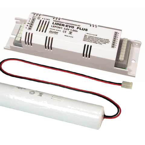 Энергосберегающий блок аварийного питания conversion kit LIDER PLUS Awex