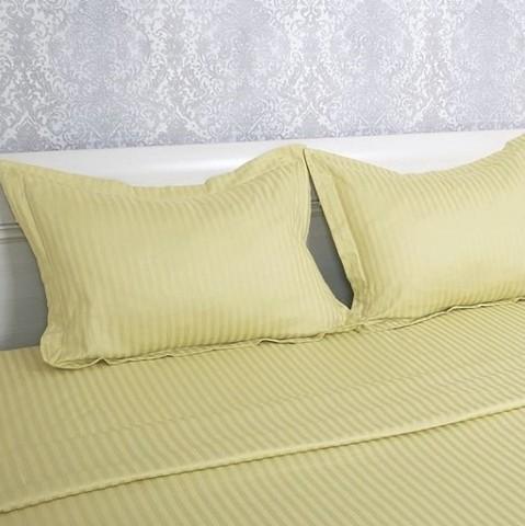 Евро Однотонное постельное белье Страйт-Сатин