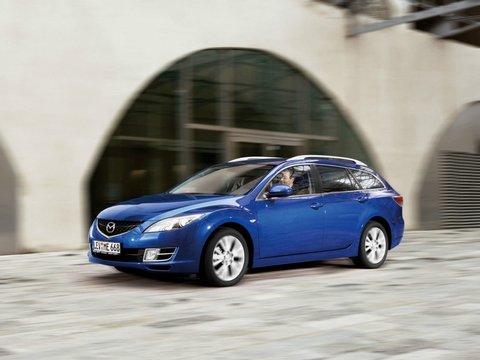 Чехлы на Mazda 6 хэтчбэк / универсал 2008–2013 г.в.