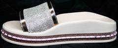 Летние шлепки женские кожаные Kluchini 5259T189 SR.