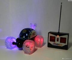 светящаяся машинка перевертыш на радиоуправлении stunt car radio control