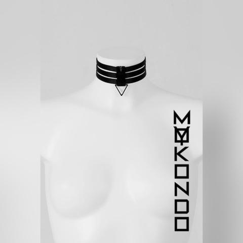 MyMokondo Ошейник Арс (Черный, S - 32 см)