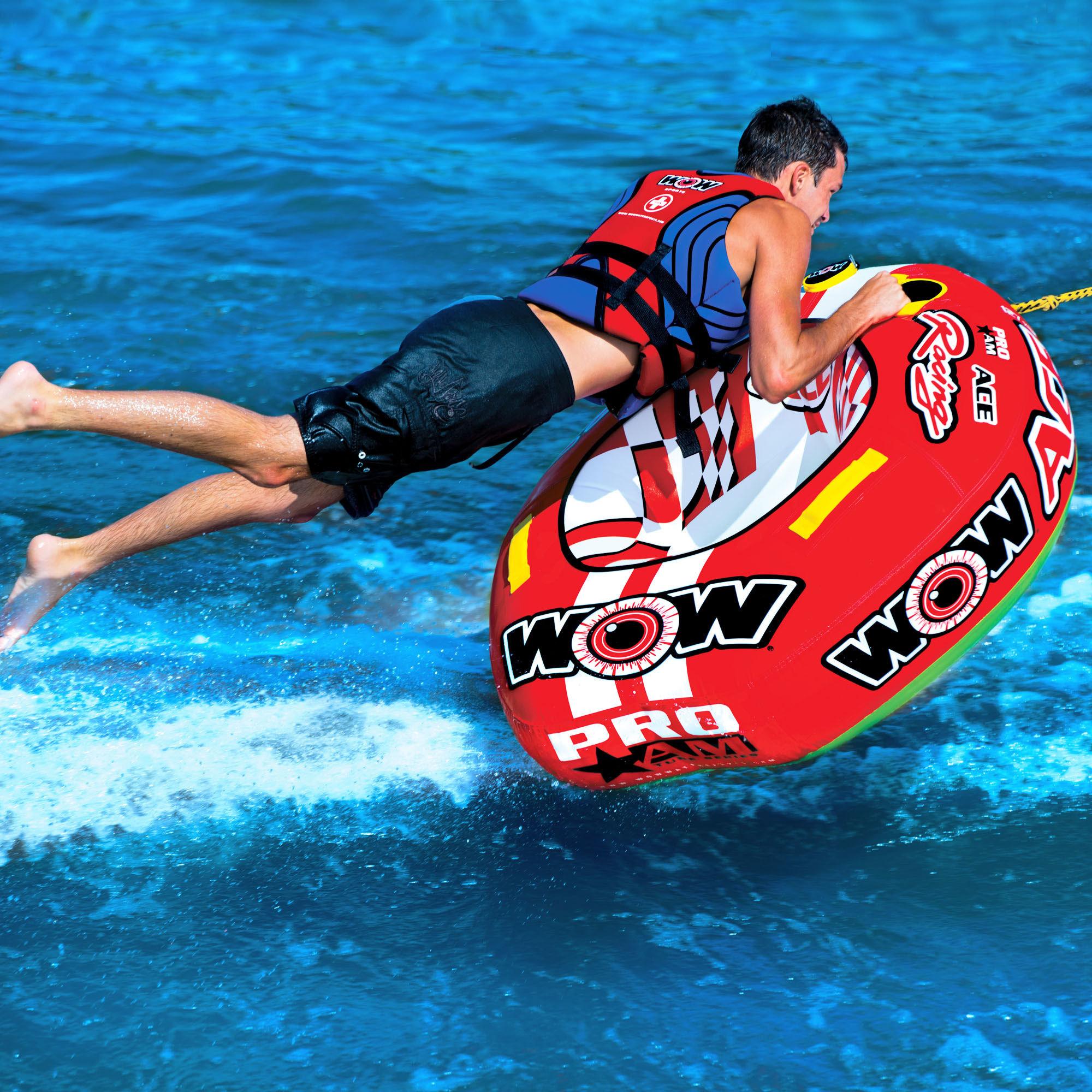 """Towable ski tube """"Ace racing"""", 1 person"""